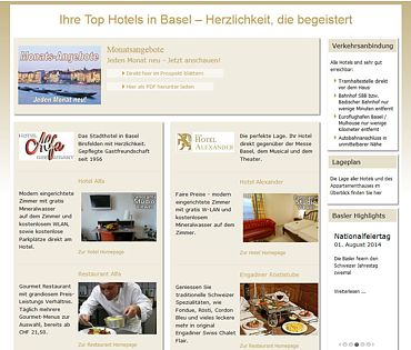 Top Hotels in Basel